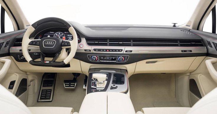 "Neidfaktor Turns Ordinary Audi SQ7 Into Bespoke ""White Pearl Project"" #Audi #Audi_SQ7"