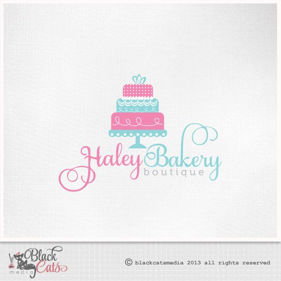 40 best logos images on pinterest business cards cake logo and cake logo wedding design eps file png psd png and jpg watermark etsy banner avatar and reheart Choice Image