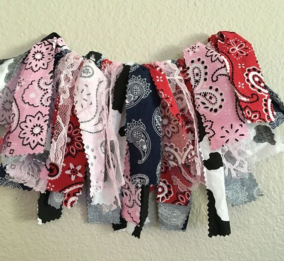 Cowgirl themed rag skirt tutu