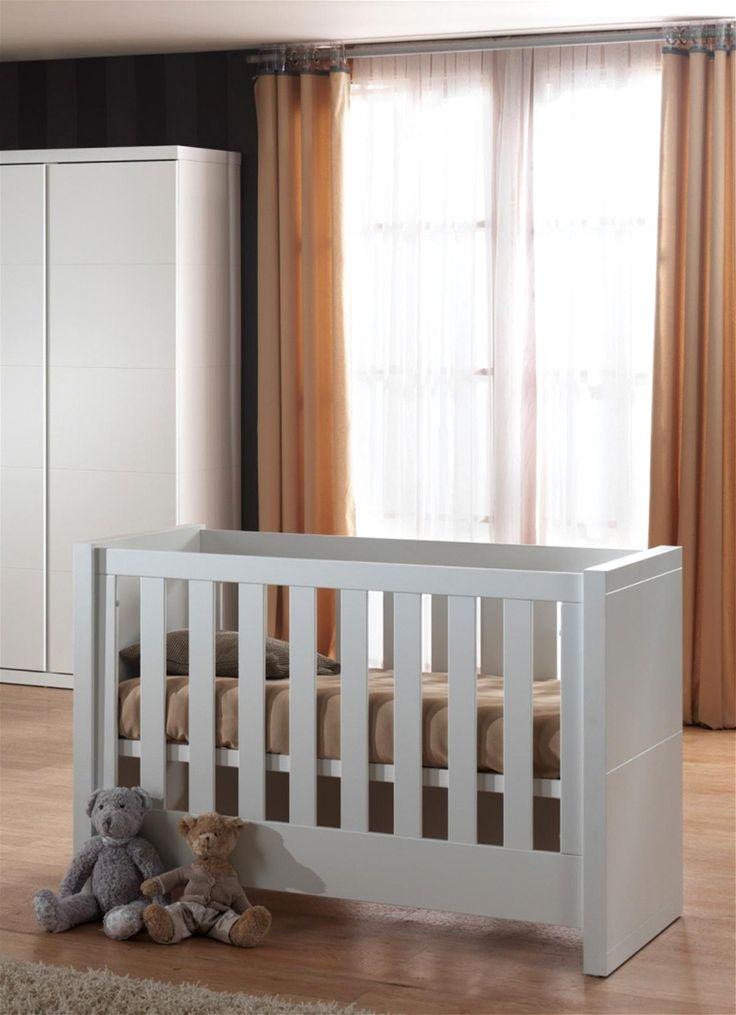 Baby-Bett Saana 60x120cm in Weiß