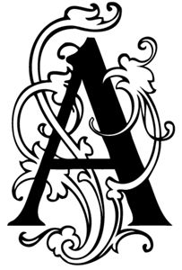 The Letter A Fancy