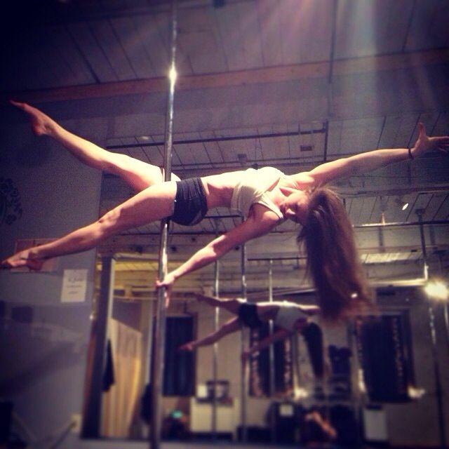 Advanced Plank - pole fitness