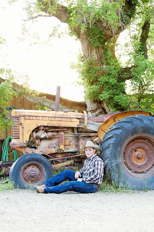 Cowboy High School Senior Session at Wheeler Farm, Salt Lake City Photo Credit…