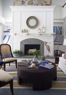 How to Add Wood trim above fireplace mantle