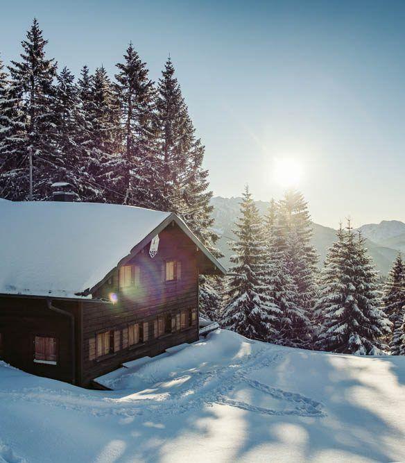 Weihnachten 2019 Schnee.Weihnachten In Den Bergen Wohnbuch Callwey Sonne Schnee Hütte