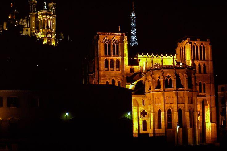 Lione - Cattedrale e Basilica di Notre Dame