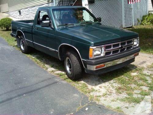 s-10 trucks for sale | 1992 chevy s10 pickup $2200.00 OBO. for sale in Scranton, Pennsylvania