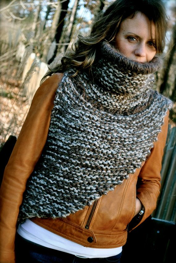 Katniss Cowl Shawl, Hunger Games, ORIGINAL by Kelly Knowles, $175.00