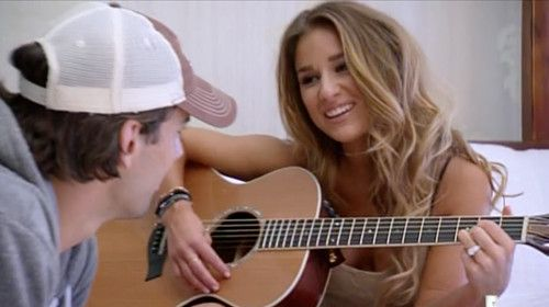 Jesse sings Eric sweet country songs and she even dedicated a music video to him