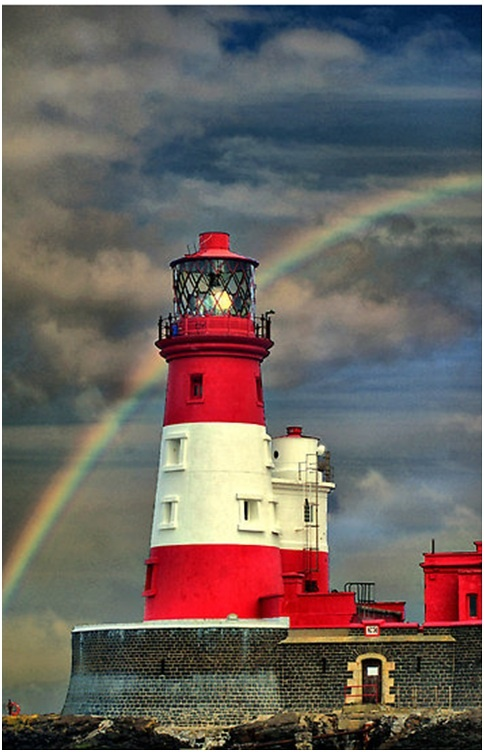 Rainbow - Lighthouse