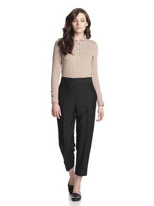 -31,400% OFF Thom Browne Women's Menswear Rise Trouser (Black)