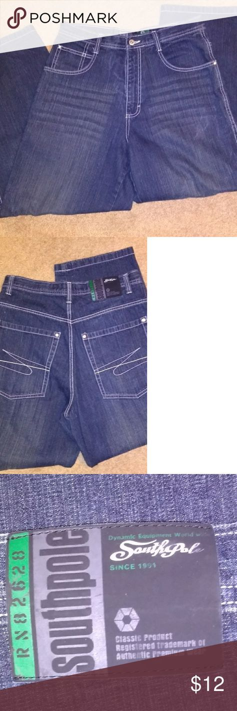 South Pole jeans Faded Southpole jeans like new condition South Pole Jeans Relaxed