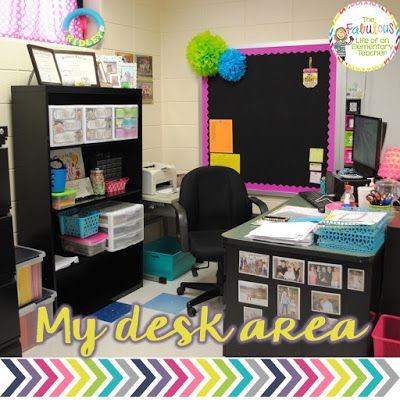 Best 25 elementary teacher ideas only on pinterest - Classroom desk organization ideas ...