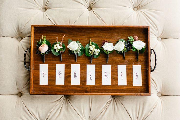 Tuscan in Tremblant — Full Bloom - boutonieres - groomsmen