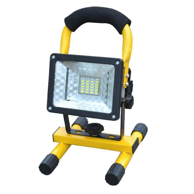 Tahan air IP65 SMD3528 24LED 3 model 30 W LED Banjir cahaya Lampu Sorot Isi Ulang Portabel Luar LED Kerja lampu Darurat (KAMI)
