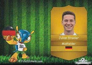 Julian Draxler - Germany Player - FIFA 2014