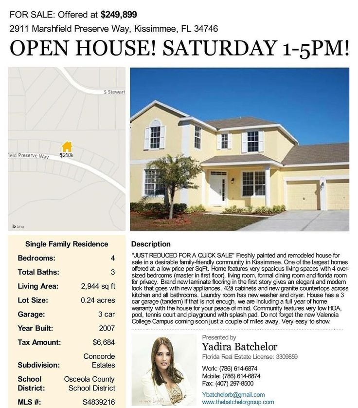 Open House today hosted by The Batchelor Group!! Bring your clients or friends. Preferred Lender onsite to answer any Mortgage questions. Free Home Evaluation. Refreshments will be served!  #openhouse #kissimmee #home #househunting #movingtokissimmee #affordableluxury #orlandoflorida #orlandorealtor #orlandorealestate #lookingtobuyahouse #movetoflorida #thesunnystate #openfloorplan #firsttimehomebuyer #lender #mortgage #motivation #thebatchelorgroup #realtoryadi
