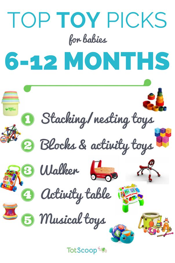 Top Toys For 6 12 Months Infants