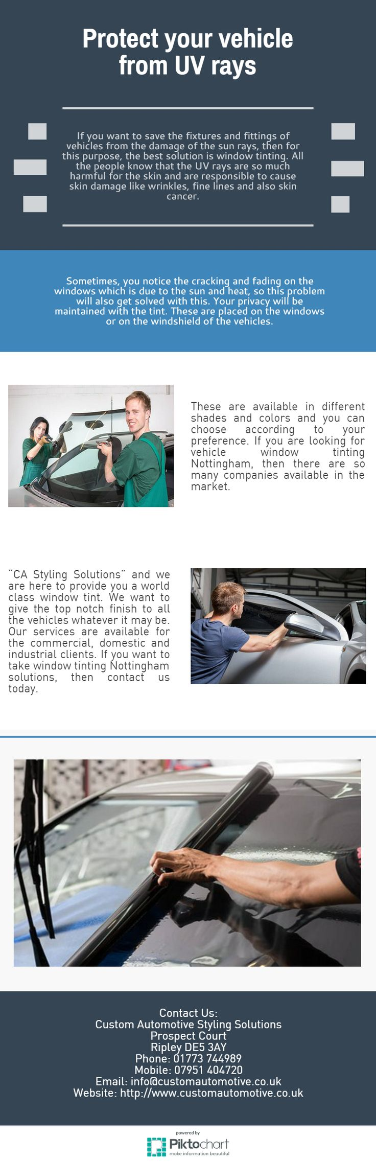 If you are looking for vehicle window tinting Nottingham, then there are so many companies available in the market.