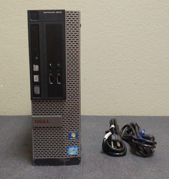 Dell Optiplex 3010 Intel Core i5-3470 @ 3 20GHz 8GB DDR3 RAM