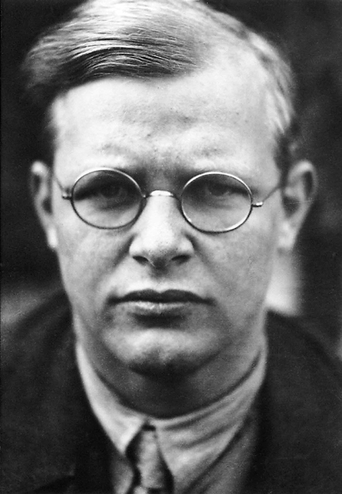 Dietrich Bonhoeffer (1906-1945) was a German Lutheran pastor, theologian, dissident anti-Nazi, and the founding member of the Bekennende Kirche 'Confessional Church'. He strongly opposed euthanasia programs and the persecution of the Jews. He was arrested by the Gestapo in April 1943, kept prisoner for three years and executed by hanging in April of 1945, just 23 days before the German surrender.