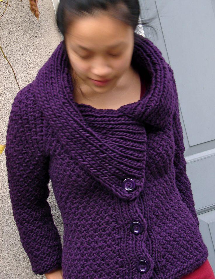 420 Best Cardigan Knitting Patterns Images On Pinterest Knit