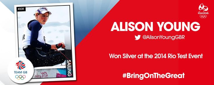 Sailor Alison Young has been officially selected to represent Team GB at the Rio 2016 Olympics Games.