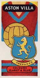 1958 Football Clubs and Badges #2 Aston Villa Front