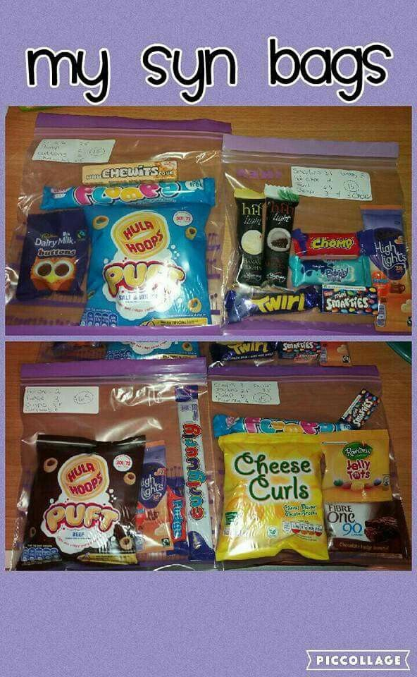 Slimming world syn bags