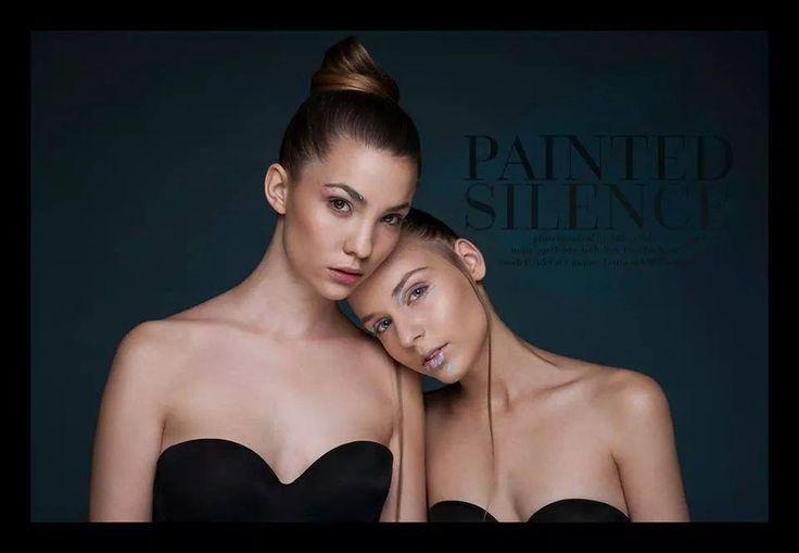 Painted Silence Photo: Attila olah Make up: Rozita Toth Hair : Orsolya Kiss
