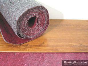 Floating An Engineered Hardwood Floor Silent Stride Is