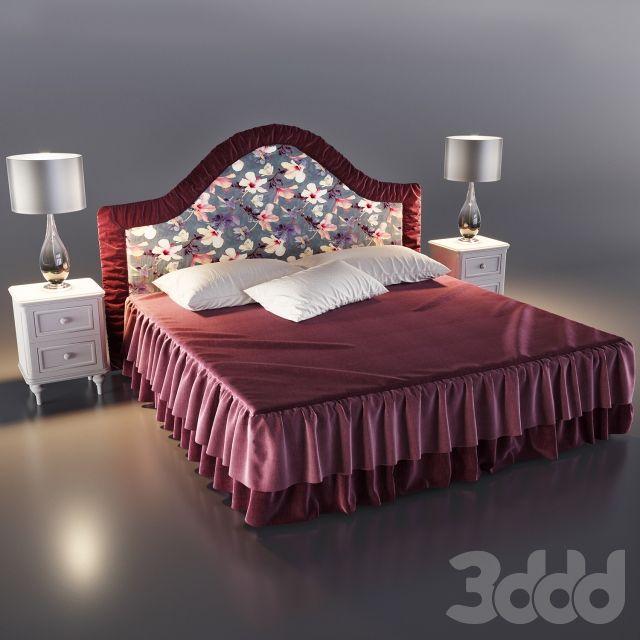 Кровать классическая