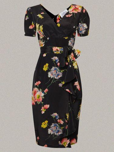 The slinky 1940s style 'Lillian' dress