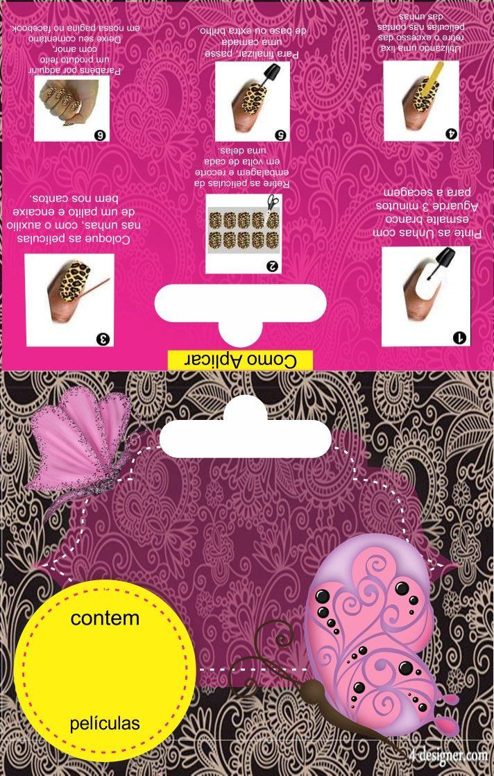 embalagem para pel c3 adculas de unhas tag caixinhas gr c3 a1tis