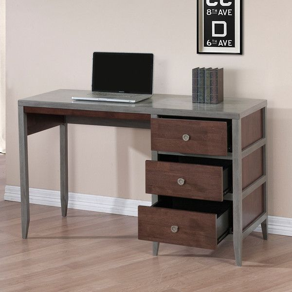 1000+ Ideas About Gray Desk On Pinterest