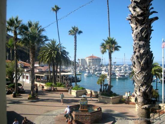 sumner ave, avalon, ca | Snug Harbor Inn: NorthEast harbor view from the Santa Catalina room ...