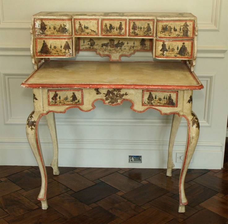diy decoupage furniture. italian decoupage antiqued desk diy decor diy furniture