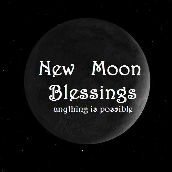 Image result for new moon blessings images