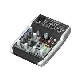 PRO AUDIO, LIVE SOUND & DJ,MESAS DE MEZCLAS,MESA DE MEZCLAS - BEHRINGER 013609 - Q502USB-EU Mesa de mezclas analógica de 5 entradas y 2 buses con preamplificadores de micrófono XENYX, ecualizadores ''British'' y compresor incluido. Interfaz USB/Audio y software de producción. 1 preamplificadores de micrófono con phantom, 1 envío de control externo por canal. Salidas de mezcla principal jack de 2,5 mm, salidas de grabación estéreo. Fuente de alimentación externa #Ofertas #Descuentos #Sales