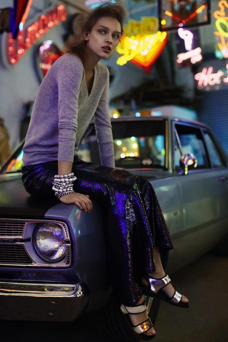 visual optimism; fashion editorials, shows, campaigns & more!: night moves: daga ziober by emma tempest for miss vogue australia #14