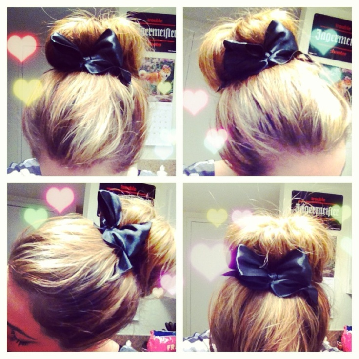 Cute Buns For Thick Hair Www Picsbud Com