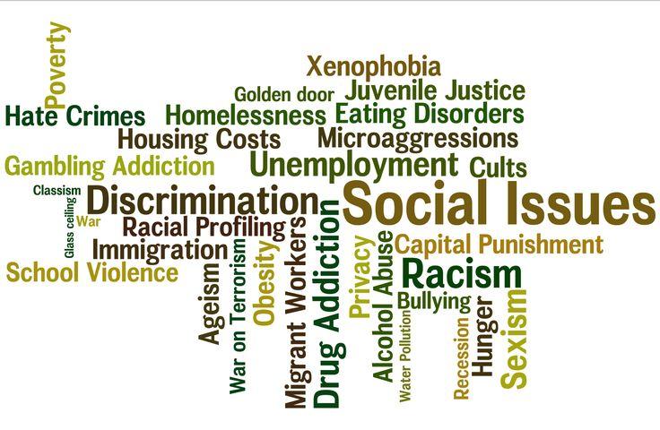 Problems in society essay topics