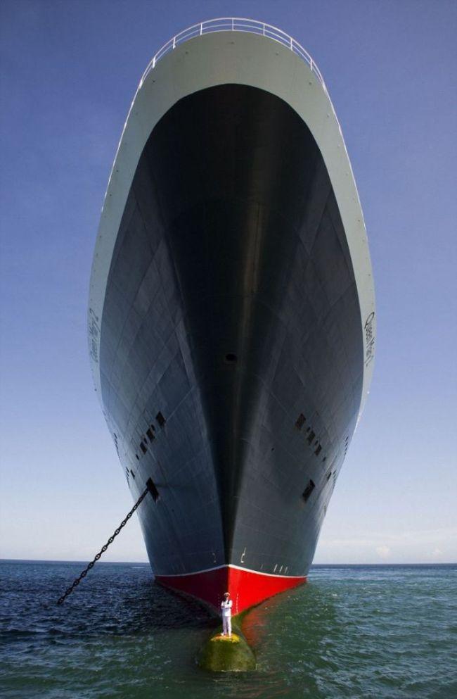 豪華客船「クイーンメリー2号」の船長の位置がヤバい - ViRATES [バイレーツ]