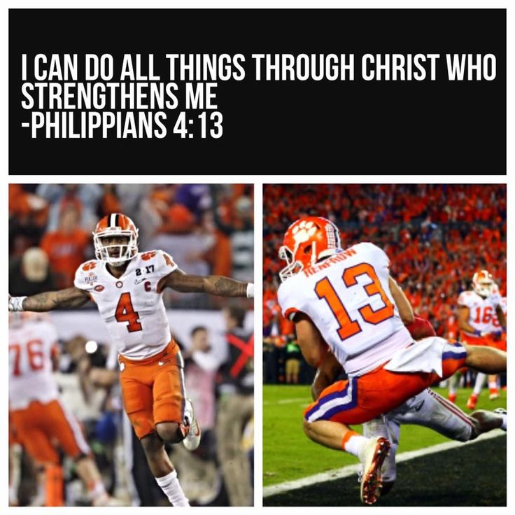 Philippians 4:13 Watson and Renfrow for the win!