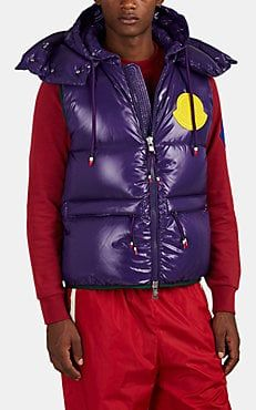 2ec48c5bc Moncler Lorent Down-Quilted Hooded Vest | Moncler Genius | Barneys ...