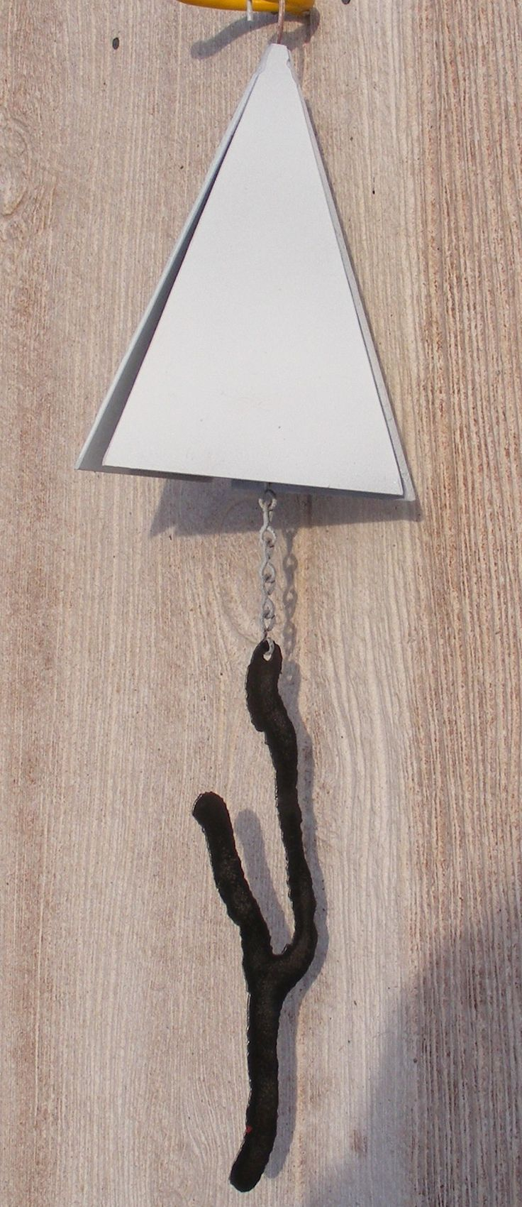 Steel pyramid keuka lake wind chime products pinterest for Colored porcelain koi fish wind chime