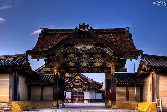 """Nijo Castle - I thoughT this was one of the neatest places in Kyoto. The """"chirping"""" floor  is so cool."""
