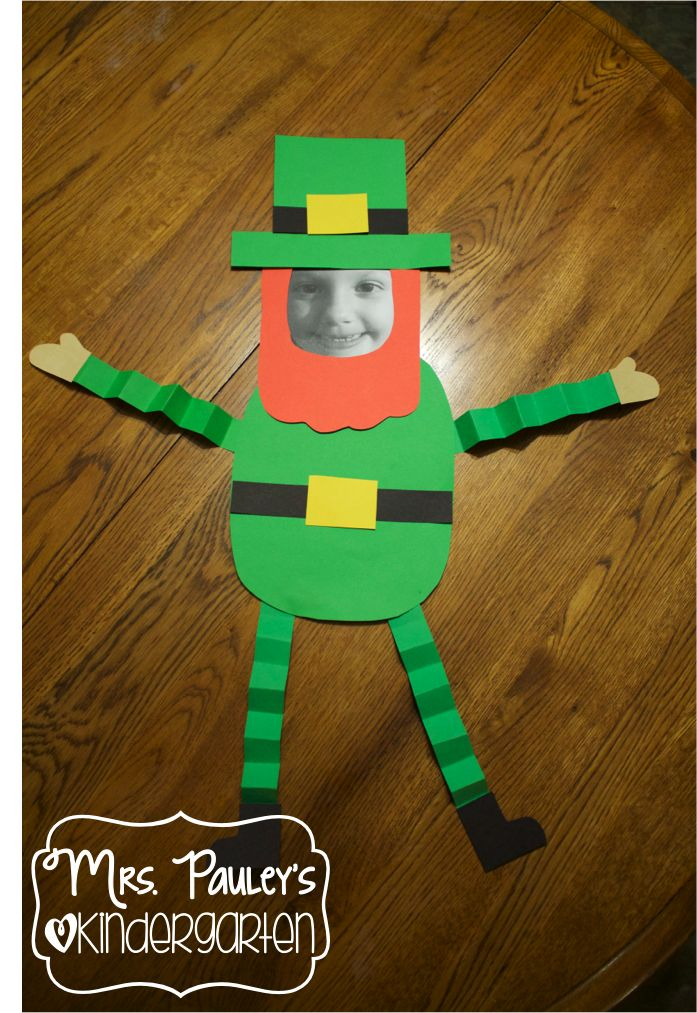 Leprechaun Yourself Craft & Writing Activity:  Super cute and fun activity for St. Patrick's Day!