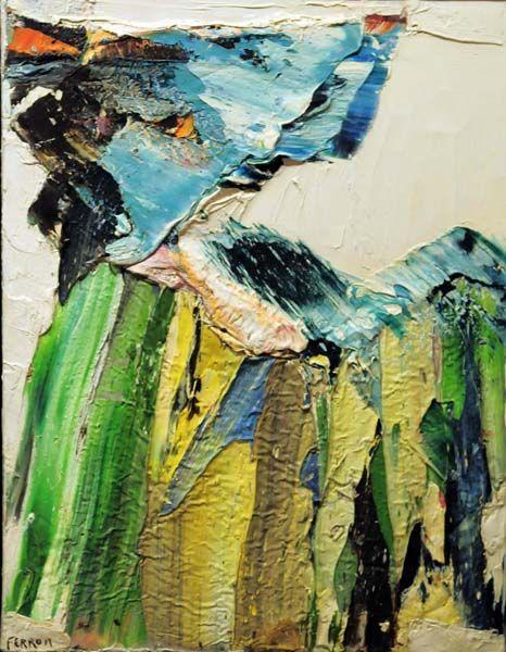 Marcelle FERRON - Sans titre (c. 1962)