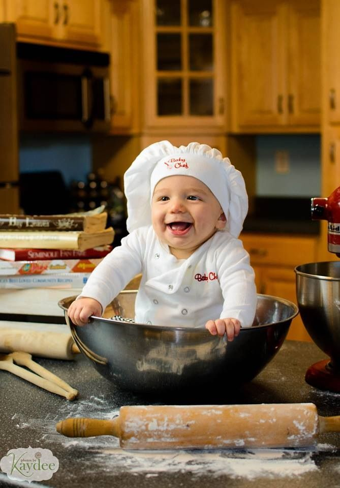 baby chef photoshoot  babychef  6months  photoshoot